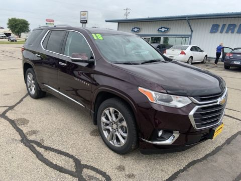 Pre-Owned 2018 Chevrolet Traverse Premier All Wheel Drive SUV