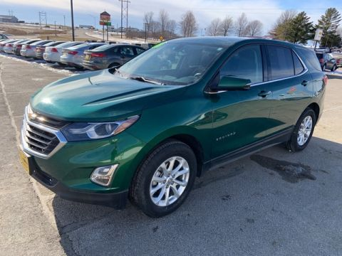 Pre-Owned 2018 Chevrolet Equinox LT All Wheel Drive SUV